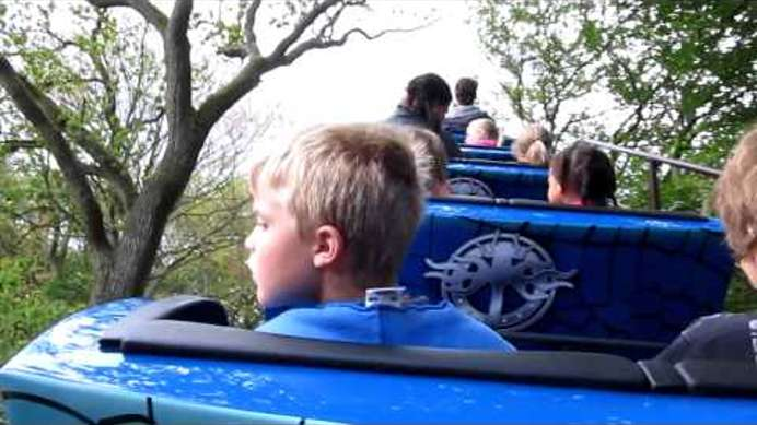 Dragonfly onride - back of the rollercoaster